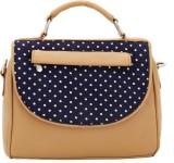 Borsavela Women Beige PU Sling Bag