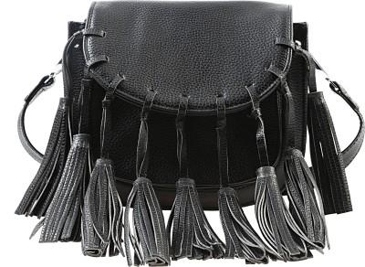 Remanika Women Black PU Sling Bag