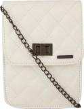 Lino Perros Women White Leatherette Slin...