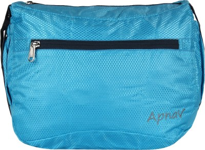 Apnav Boys, Girls, Women Blue Polyester Sling Bag