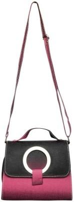 Bueva Girls, Women Pink PU Sling Bag
