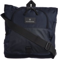 Victorinox Men & Women Blue Nylon Sling Bag