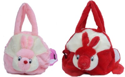 Bizarro Girls, Women Pink, Red Velvet Sling Bag