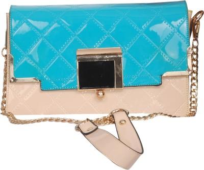 Deox Girls, Women Blue Genuine Leather Sling Bag