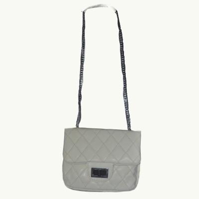 ABC Women Casual Tan Leatherette Sling Bag