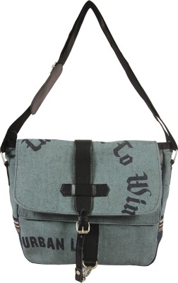 The Jute Shop Women Formal Grey Cotton Sling Bag