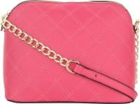 Alvaro Castagnino Women Pink PU Sling Bag