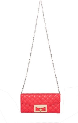Starz Women Red PU Sling Bag