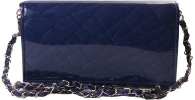 ARMADIO Girls Blue Leatherette Sling Bag