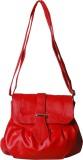 First loot Women Red Rexine Sling Bag