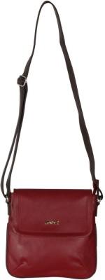 Merci Women Red PU Sling Bag