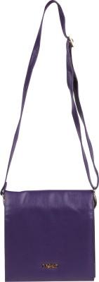 Merci Women Purple PU Sling Bag