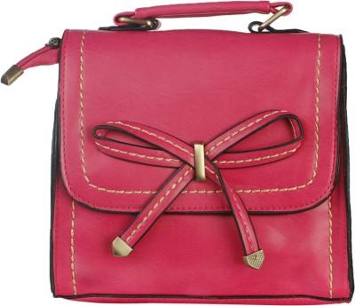 Riti Women Red PU Sling Bag