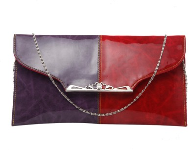 SkyWays Women Casual, Evening/Party Multicolor PU Sling Bag
