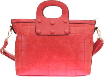 velina Women Red PU Sling Bag