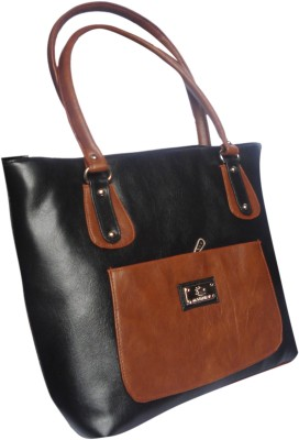 WEEBILL Women Black, Tan PU Sling Bag