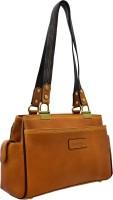 JFL - Jewellery for Less Girls Tan Genuine Leather Shoulder Bag