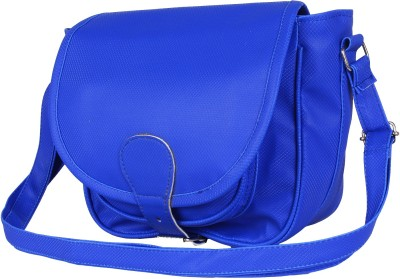 Cottage Accessories Girls Blue PU Sling Bag