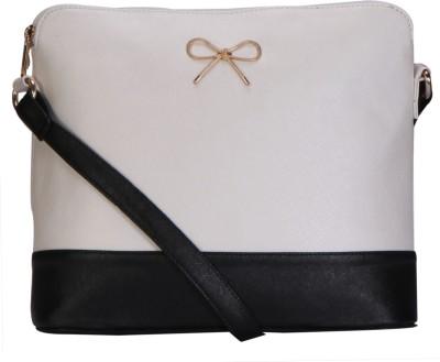 Lychee Bags Women Grey, Black PU Sling Bag