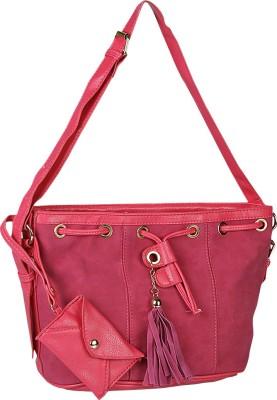 Giordano Women Casual Pink Sling Bag