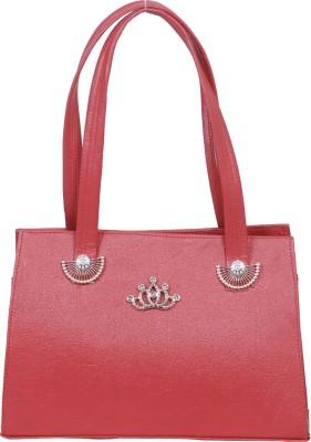 Kshipra Fashion Women, Girls Pink Genuine Leather Sling Bag