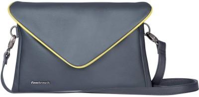 Fastrack Girls Grey PU Sling Bag
