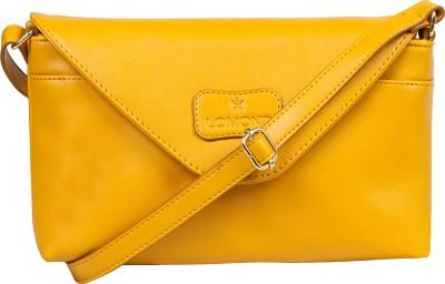 Lomond Women Evening/Party Yellow PU Sling Bag