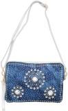 Shopaholic Fashion Women Blue PU Hand-he...