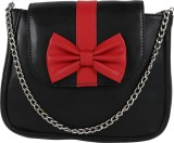 Berrypeckers Women Casual Black, Red PU ...
