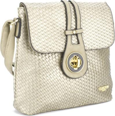 Carlton London Women Grey Sling Bag