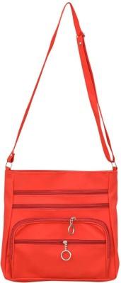 Bueva Girls, Women Red PU Sling Bag
