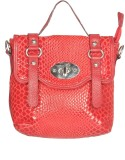 Chanter Women Casual Red Genuine Leather...