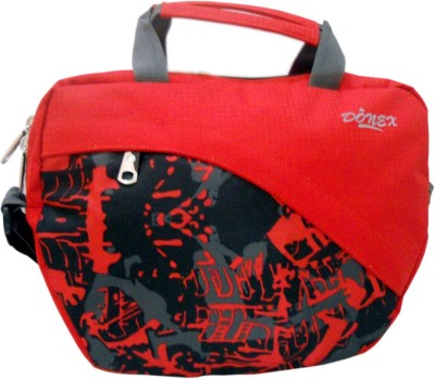 Donex Girls Casual Red Polyester Sling Bag