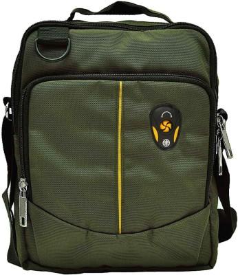 Hawai Men Casual Green Polyester Sling Bag