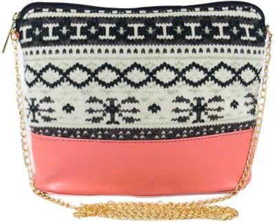 Glitter Glory Women Multicolor Wool Sling Bag