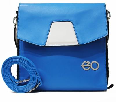 E2O Women Casual Blue Sling Bag