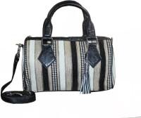AF Women Black Jute Sling Bag