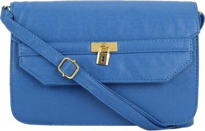 Stylathon Women Blue PU Sling Bag