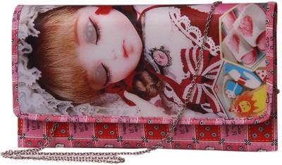 Notbad Girls Casual Pink PU Sling Bag