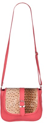 Fristo Women Pink PU Sling Bag