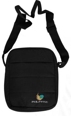 Philippine Women Black Polyester Sling Bag