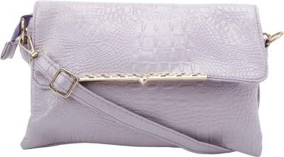 Jolie Women Purple PU Sling Bag