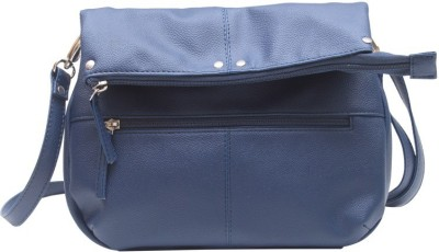 The Parallels Girls, Women Casual, Formal Blue PU Sling Bag