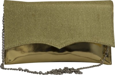 La Passo Girls, Women Green Leatherette Sling Bag