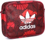 Adidas Women Red, Maroon, Multicolor Sli...