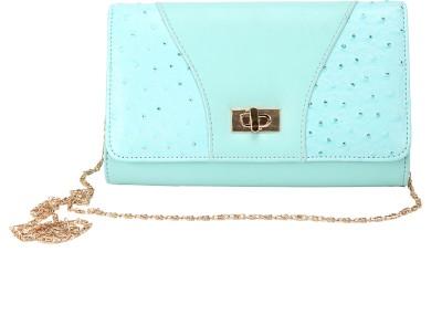 Mese Women Blue PU Sling Bag