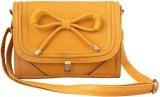 Ayeshu Women Yellow PU Sling Bag