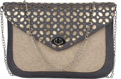 MGG Girls, Women Grey Rexine Sling Bag