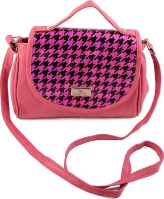 Chalissa Girls, Women Pink PU Sling Bag