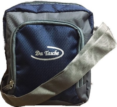 Da Tasche Boys, Girls Blue Polyester Sling Bag